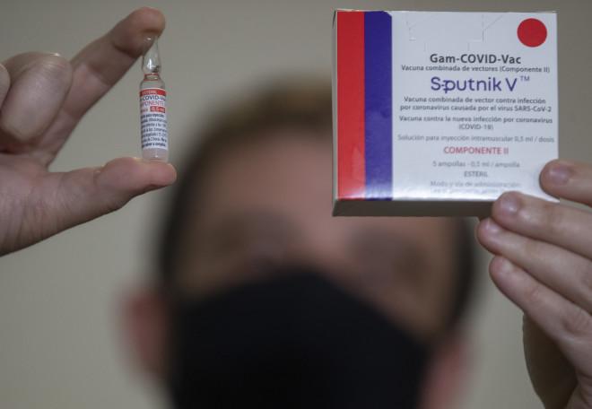 To ρωσικό εμβόλιο Sputnik V- φωτογραφία ΑΡ