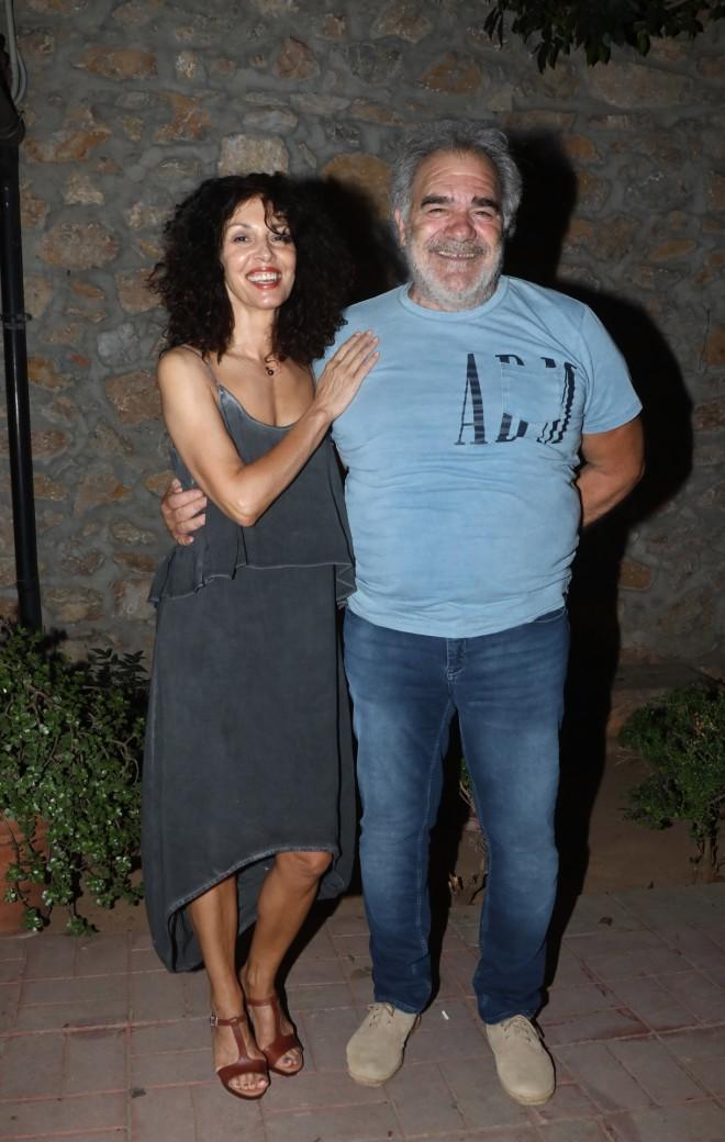 Ο Γιάννης Μποσταντζόγλου και η Δήμητρα Παπαδήμα μαζί στο θέατρο