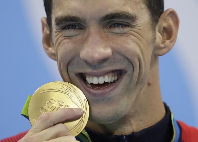Mάικλ Φελπς χρυσό μετάλλιο
