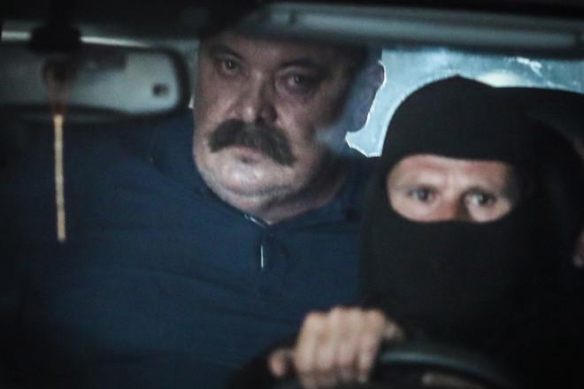 Η μεταγωγή του Χρήστου Παππά στις φυλακές Δομοκού- Eurokinissi