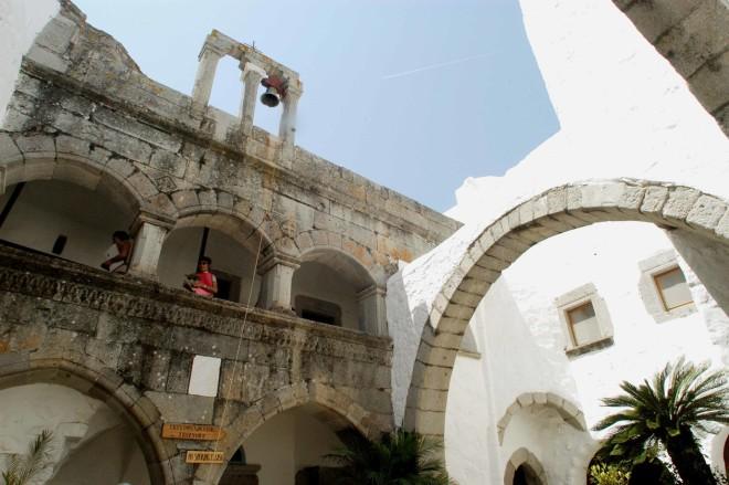 Πάτμος: Η ιερά μονή Αγίου Ιωάννη Θεολόγου- φωτογραφία Eurokinissi