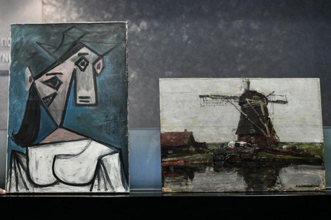 Οι δύο κλεμμένοι πίνακες από την Εθνική Πινακοθήκη