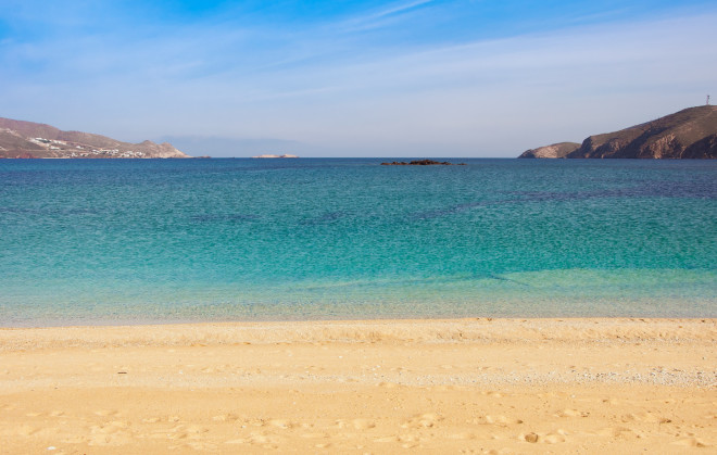 Μύκονος - Παραλία Φτελιά