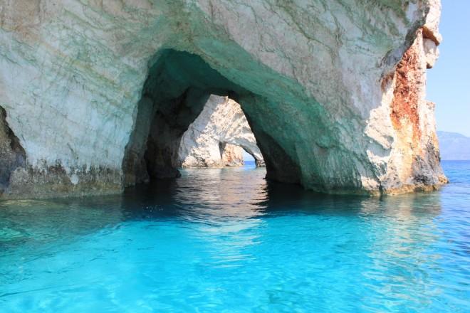 Ζάκυνθος - σπηλιές