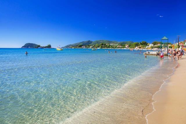 Ζάκυνθος - παραλία Λαγανάς