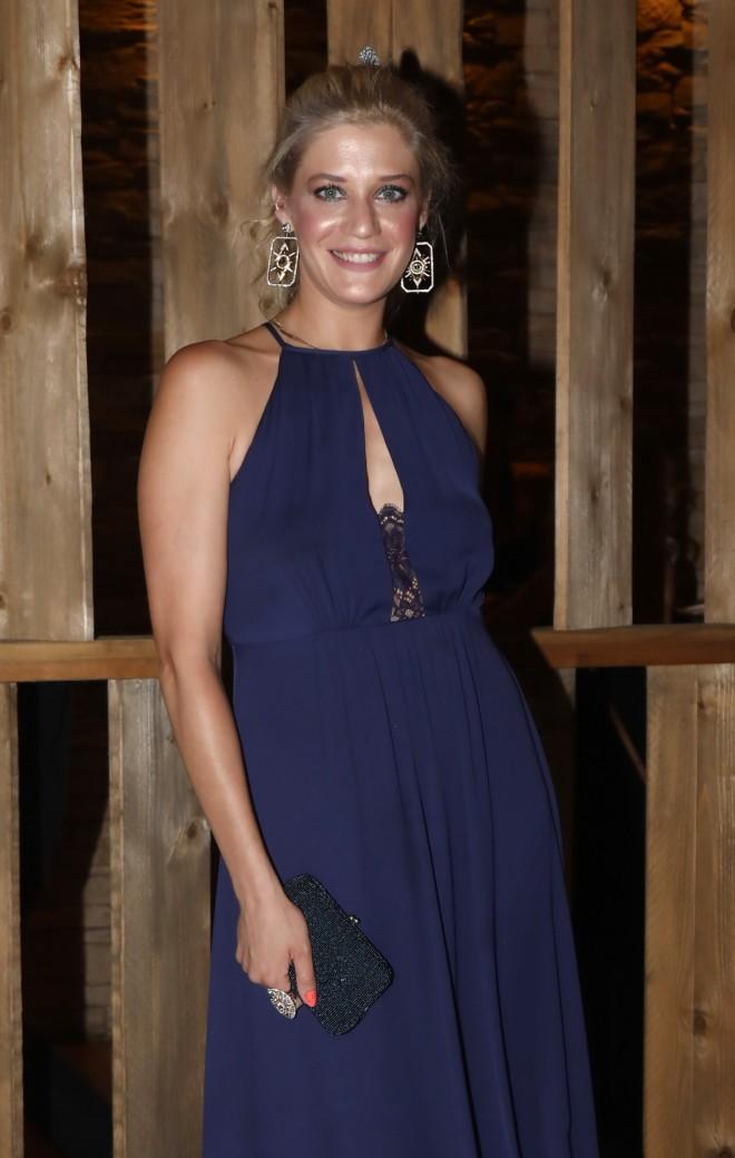 Η ηθοποιός πήγε να απολαύσει επί σκηνής τον Δήμο Αναστασιάδη
