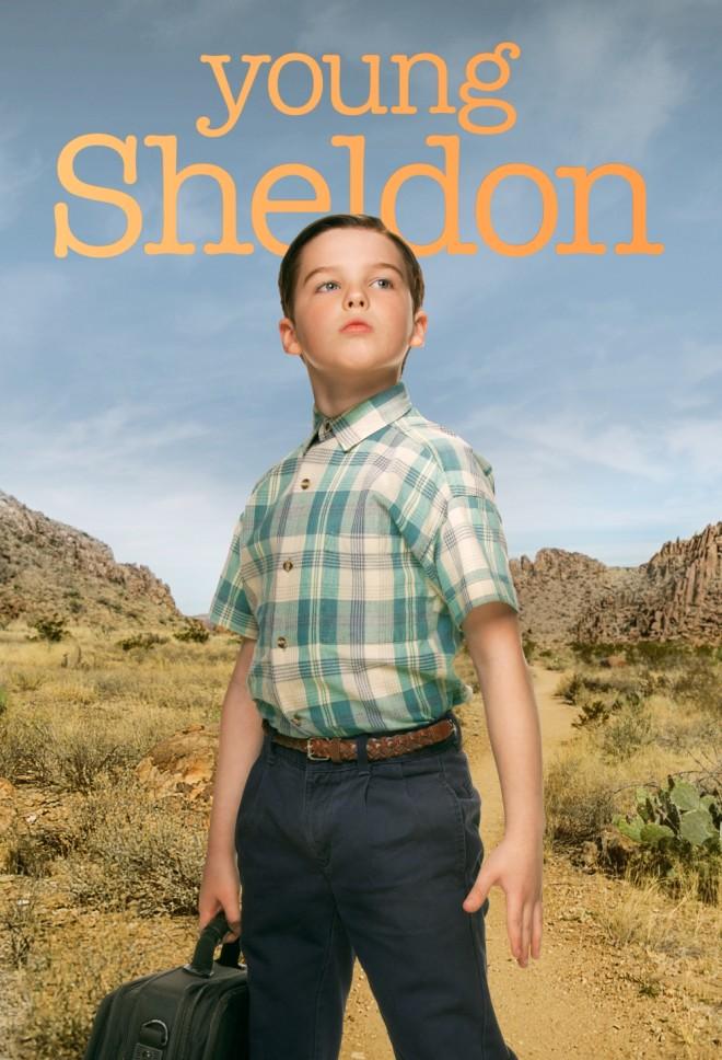 O  πρωταγωνιστής της σειράς Young Sheldon