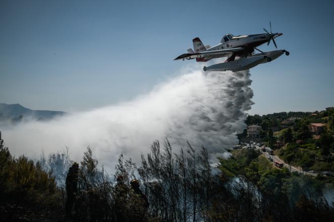 φωτιά Βαρνάβα αεροπλάνο
