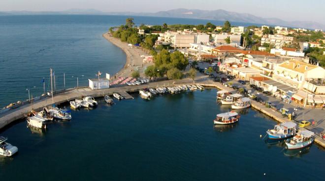 Αεροφωτογραφία από τον Κάλαμο Αττικής- φωτογραφία Eurokinissi