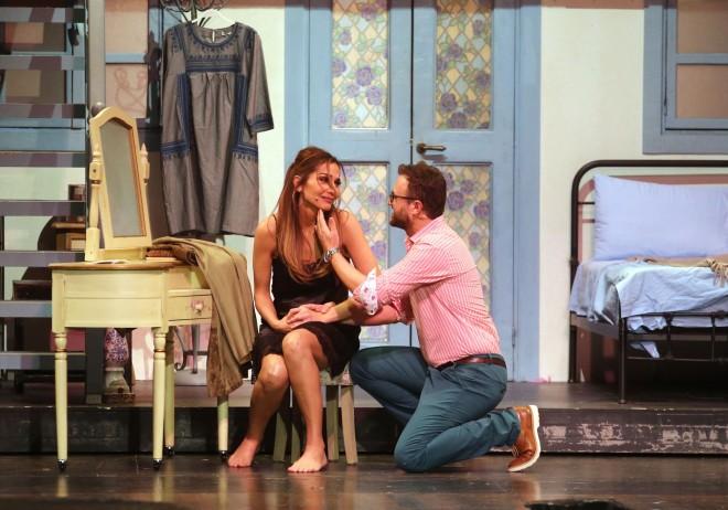 Σκηνή από την παράσταση Mamma Mia