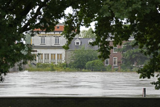 Πλημμύρες στο Βέλγιο- φωτογραφία ΑΡ