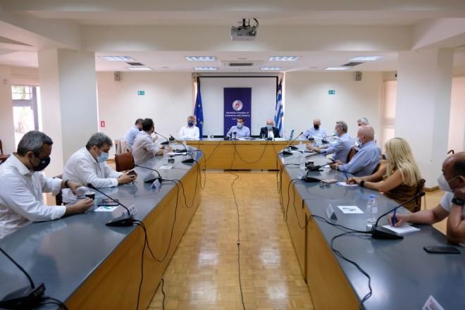 Αλέξης Τσίπρας σύσκεψη Επιμελητήριο Κρήτης