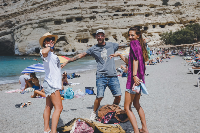 Life is a beach: Η Μαρία Μιχαλοπούλου