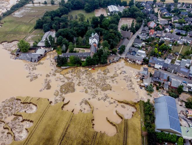 Καταστροφικές πλημμύρες στη Γερμανία- φωτογραφία ΑΡ
