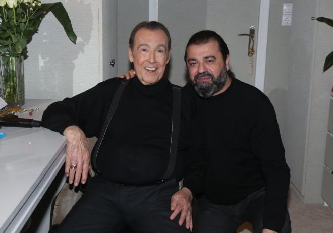 Ο ''πρίγκιπας'' του ελληνικού τραγουδιού με τον Κυριάκο Παπαδόπουλο