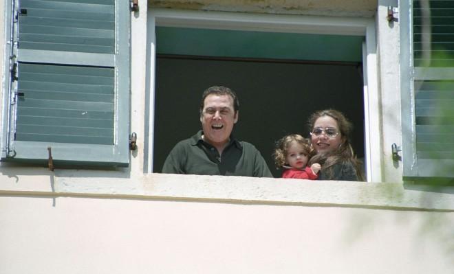 Γκερέκου - Βοσκόπουλος με την κόρη τους