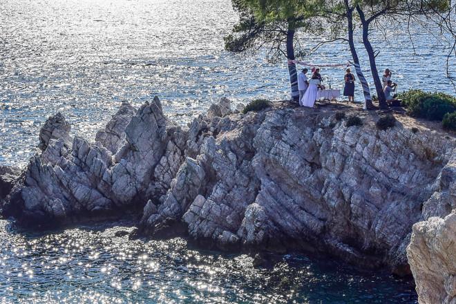 Γάμος στον Αμάραντο Σκοπέλου το 2018- φωτογραφία Eurokinissi