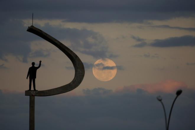 Το«Φεγγάρι του Ελαφιού» το 2020 από τη Βραζιλία- φωτογραφία ΑΡ