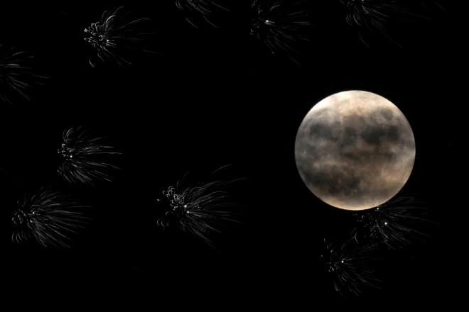 Το «Φεγγάρι του Ελαφιού» το 2020 από το Κάνσας-φωτογραφία ΑΡ