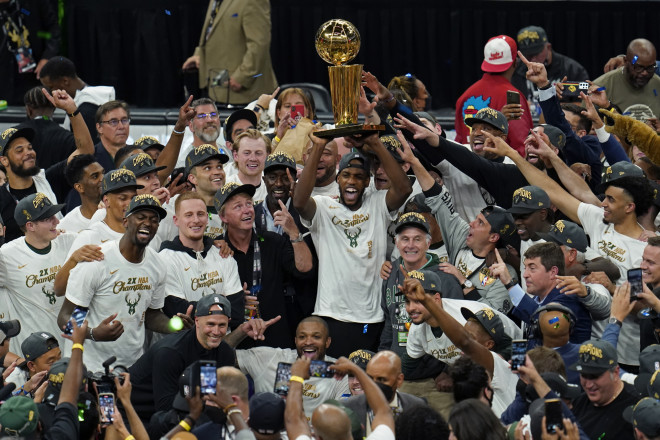 Οι Bucks πρωτθλητές του NBA