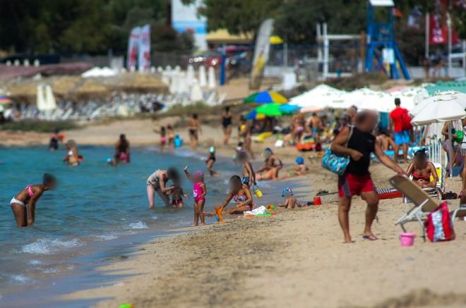 Παραλία Αλυκές στη Χαλκίδα- φωτογραφία ΙΝΤΙΜΕ