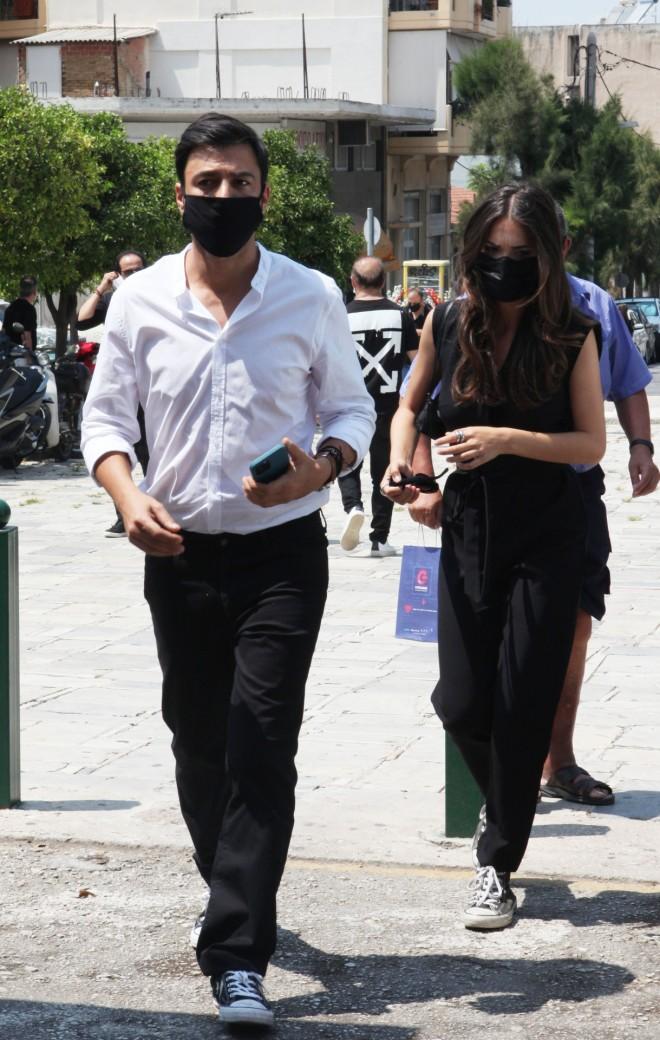 Ο Ανδρέας Γεωργίου συνεργάζεται με την Άντζελα Γκερέκου στη σειρά η Γη της Ελιάς/ φωτογραφία NDP