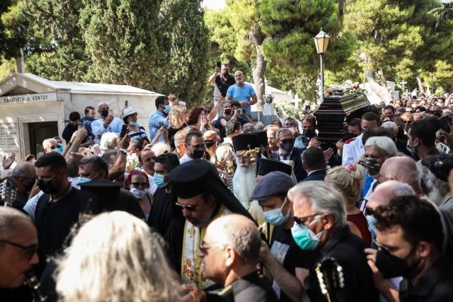 Τόλης Βοσκόπουλος Κηδεία