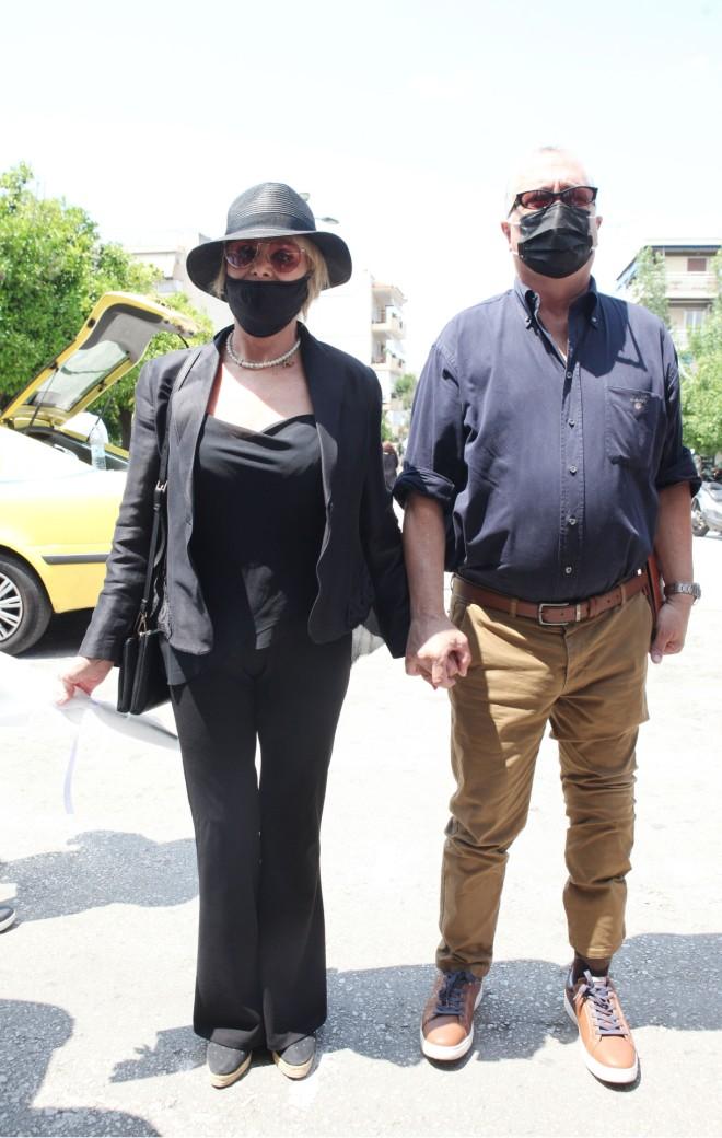 Με τη Μαρία Ιωννίδου είχαν συνυπάρξει στην ταινία Μαριχουάνα Στοπ/ φωτογραφία NDP
