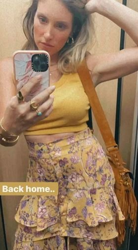 Η Αθηνά Οικονομάκου επέστρεψε στο σπίτι της