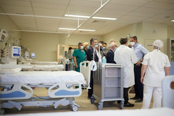 Κ. Μητσοτάκης Γενικό Νοσοκομείο Χαλκίδας