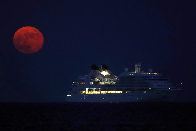 Το «φεγγάρι του Ελαφιού» από την Κύπρο τον Ιούλιο του 2020- φωτογραφία ΑΡ
