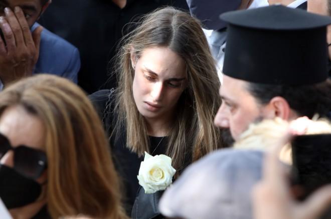Μαρία Βοσκοπούλου Κηδεία Τόλη Βοσκόπουλου