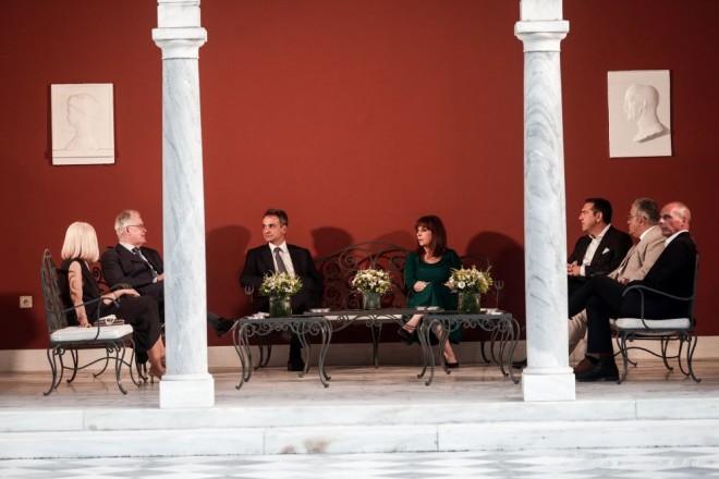 Προεδρικό Μέγαρο πολιτικοί αρχηγοί