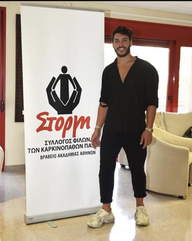 Ο Γιώργος Ασημακόπουλος επισκέφθηκε το 'Ιδρυμα ΣΤΟΡΓΗ