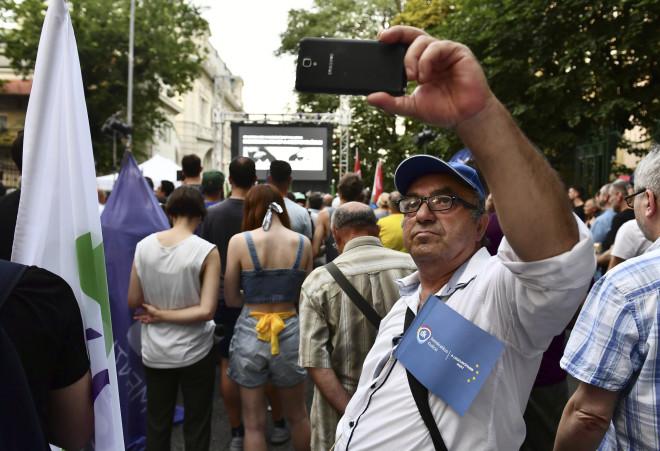 Διαδήλωση Ουγγαρία