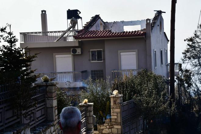 φωτιά σπίτι ζημιά