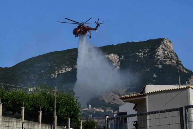 ελικόπτερο κατάσβεση φωτιάς