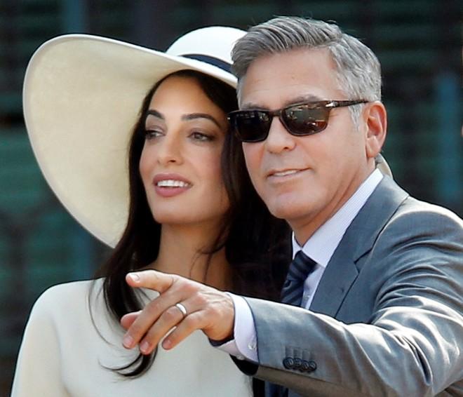 Amal Alamuddin George Clooney Έγκυος