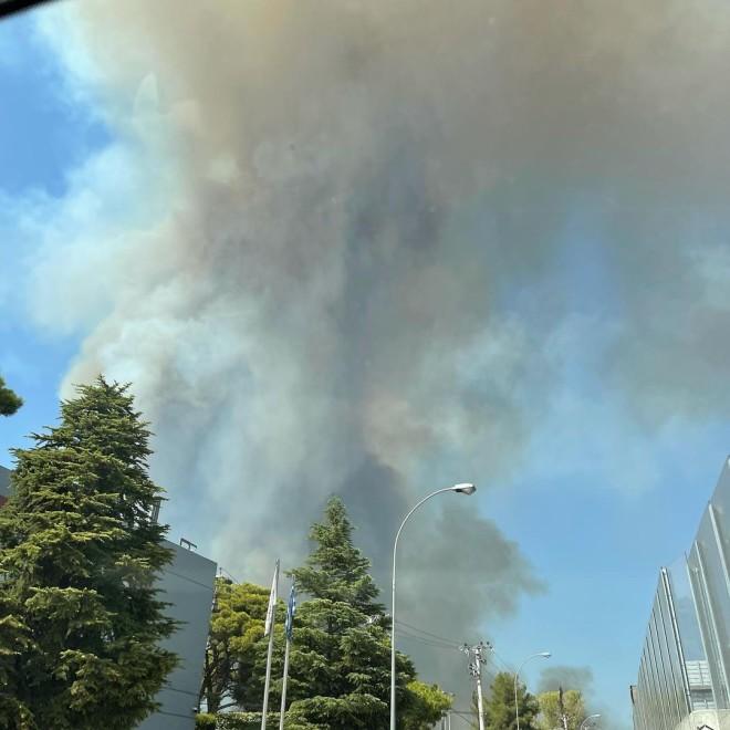 βαρυμπόμπη πυρκαγιά τώρα μουτιδου φωτιά