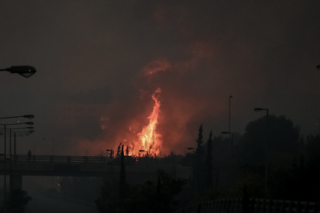 φωτιά εκκένωση οικισμών