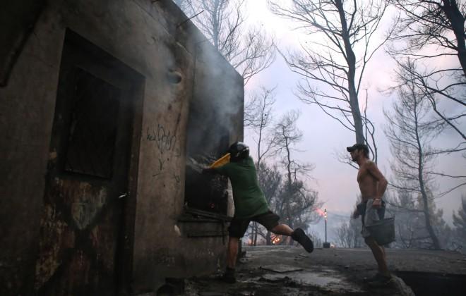 κάτοικοι φωτιά