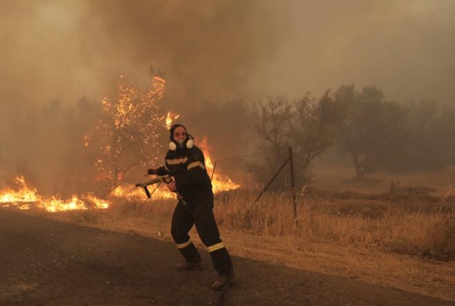 πυροσβεστής Βαρυμπόμπη