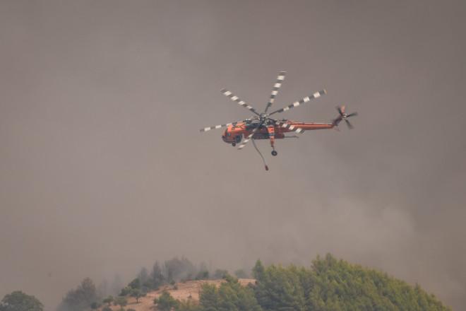 ελικόπτερο κατάσβεση