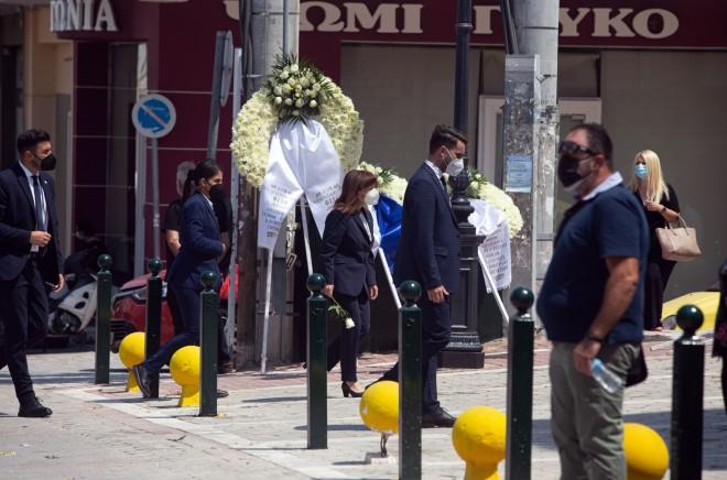 Βασίλης Φιλώρας κηδεία