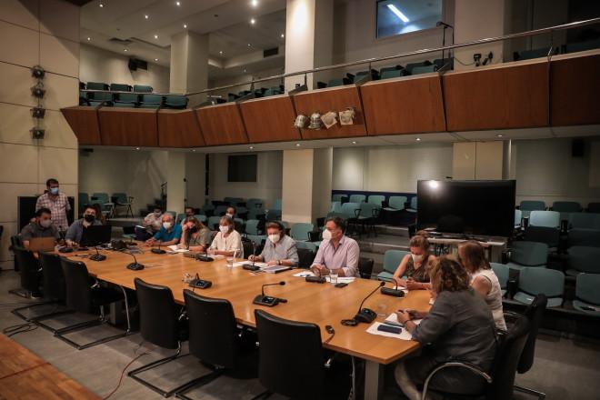 Λίνα Μενδώνη συνέντευξη Τύπου για Τατόι
