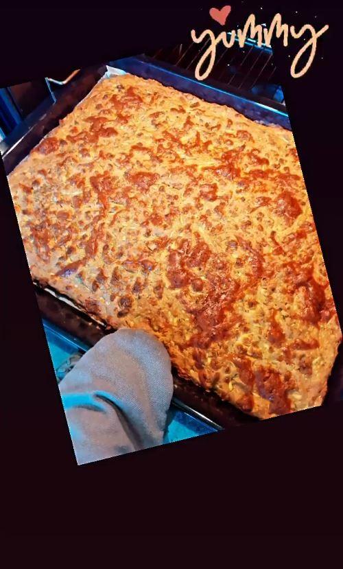 Η πίτσα της Μαρίας Ηλιάκη