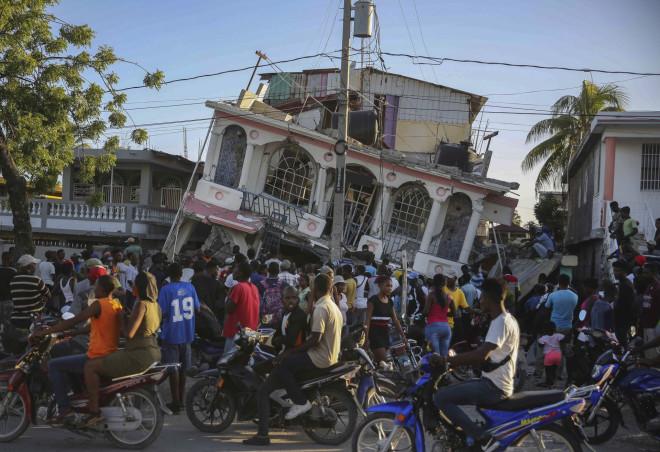 γκρεμισμένο κτίσμα Αϊτή