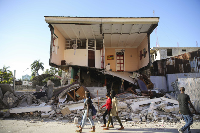 Αϊτή καταστροφές