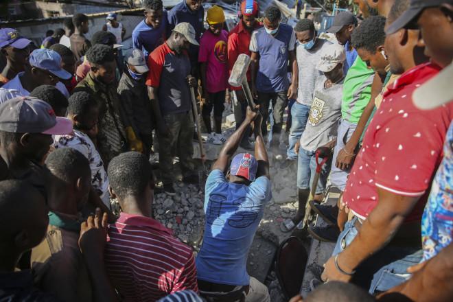 διάσωση Αϊτή