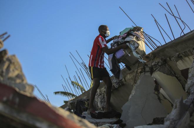 συντρίμμια Αϊτή